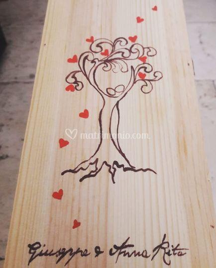 Cassetta albero della vita