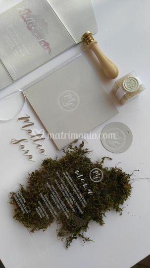 Letterpress e plexiglass