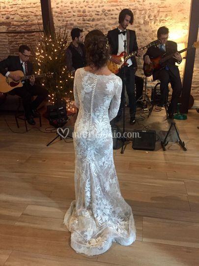 Sposa guarda sposo