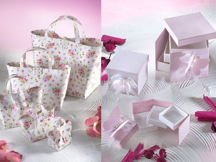 Wedding bag e portaconfetti