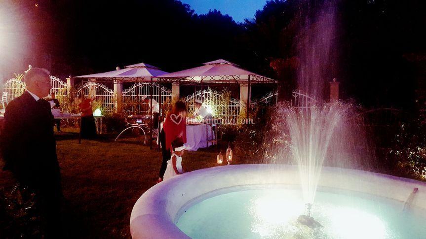 Giardino, fontana