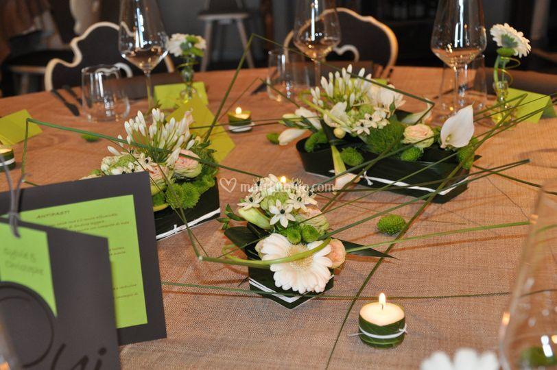 Tavolo sposi design