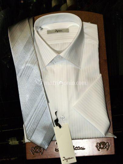Camicia e cravatta cerimonia