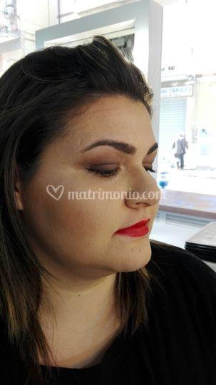 Prova makeup sposa