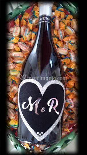 Love Bridal Bottle