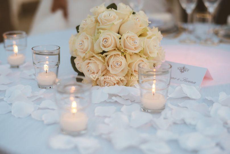 Bouquet rose matrimonio twiga