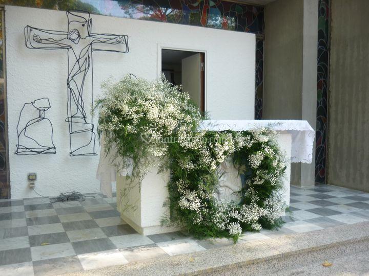 Mensa chiesa estiva