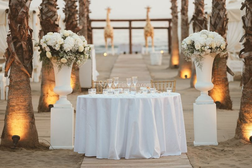 Matrimonio twiga beach