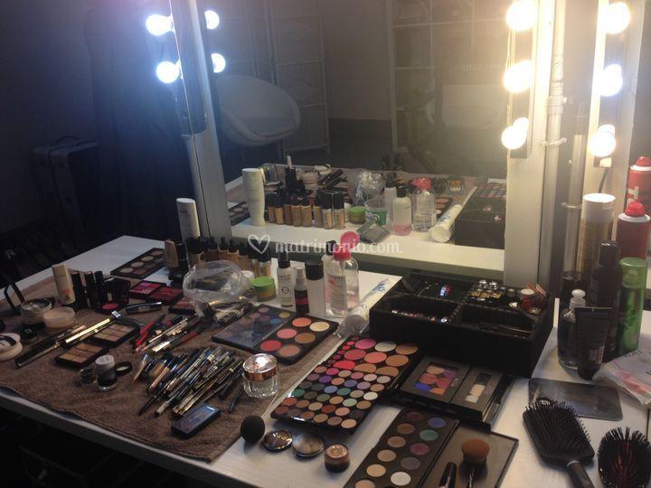 Prodotti make-up professionali