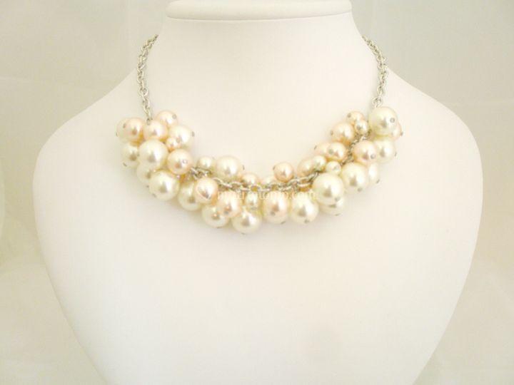 Collana grappolo perle sw varie misure