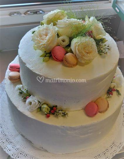 Torta Nuziale Macarons