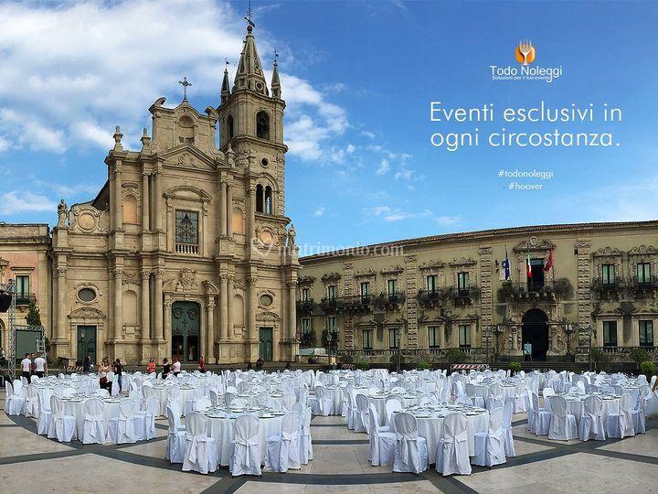 Evento in P.zza Duomo Acireale