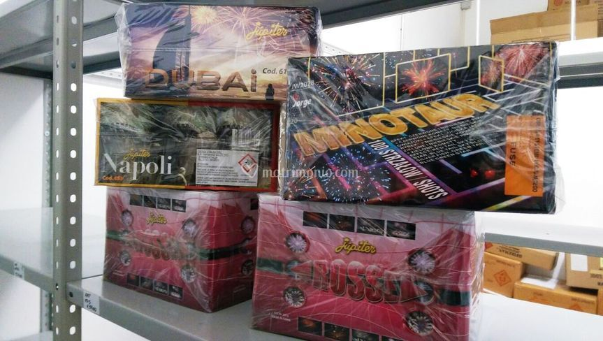 Batterie fuochi d'artificio