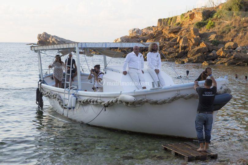 Wedding services Sicily - boat