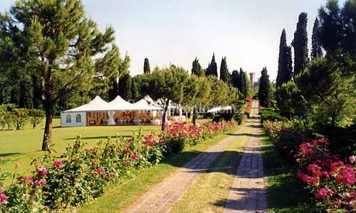 Allestimento parco giardino Sigurtà