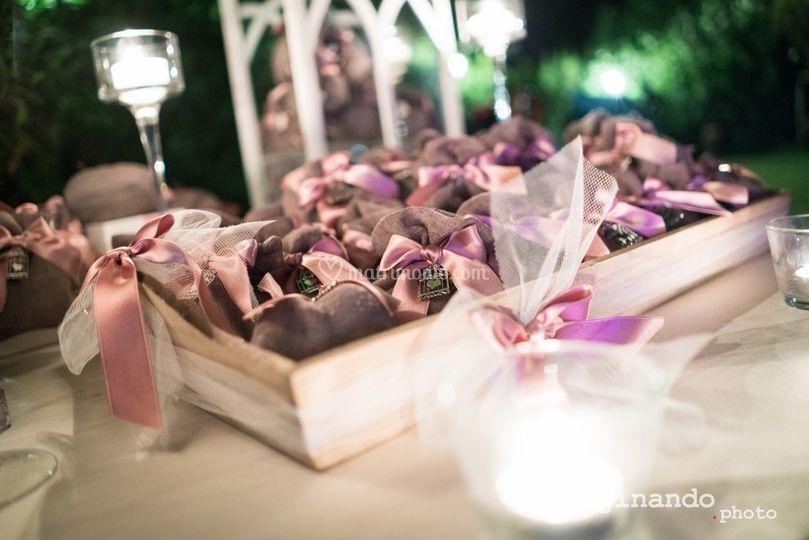 Rosa antico ciondolo romantico