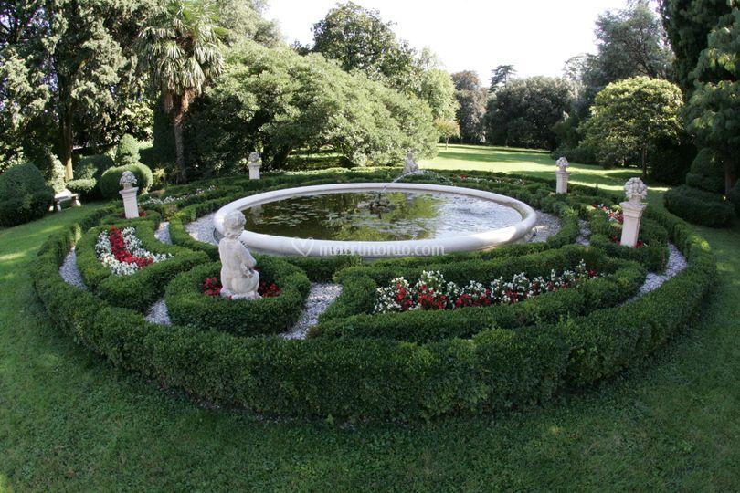 Fontana parco sud