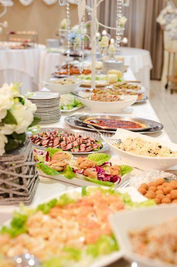 Angolo di buffet