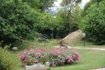 Il giardino di Villa Castagna