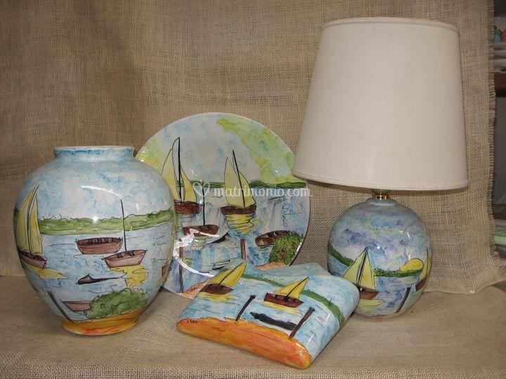 Decorazione su ceramica