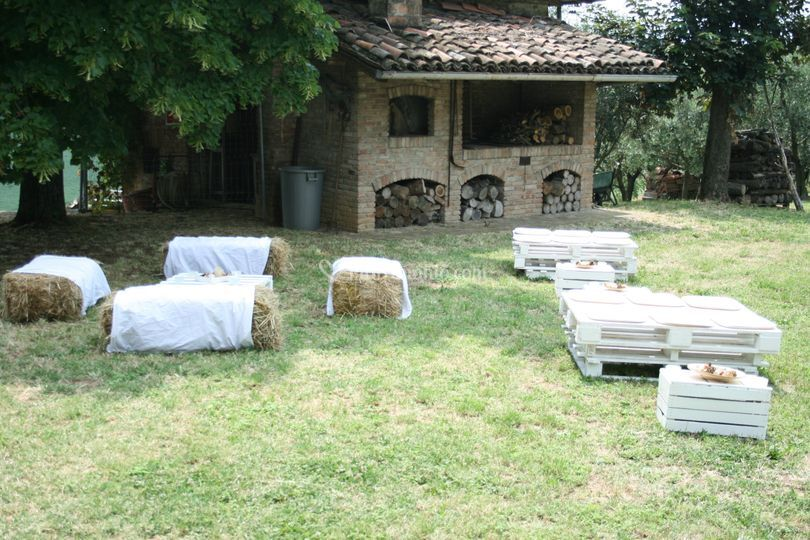 Allestimento country