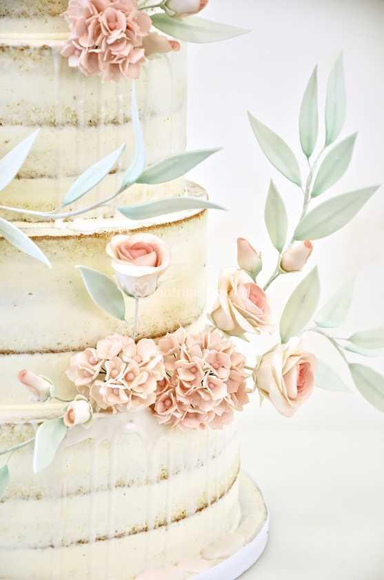 Fiori Di Zucchero Fatti A Mano Di La Torta Perfetta Foto 22