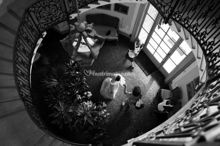 Reportage fotografico di nozze in bianco e nero - Pagine a colori in bianco e nero ...