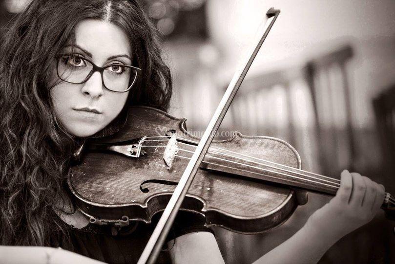 Violino per sottofondo musical
