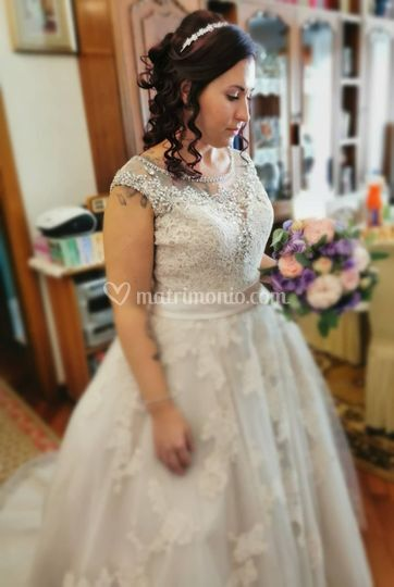 Wedding day elena