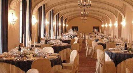 Sala da pranzo di castello di rivara foto 5 for Sala da pranzo foto