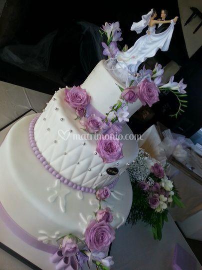 Torta & Insoliti fiori