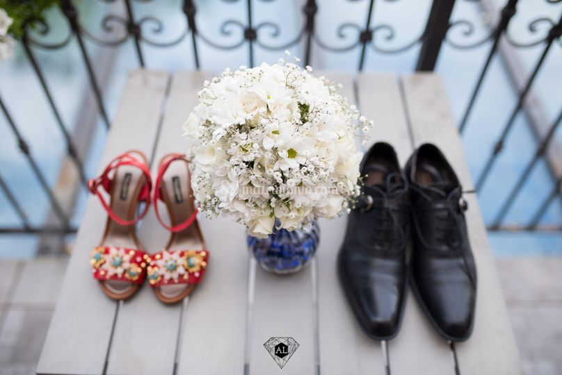 Wedding Shoes - Como Foto