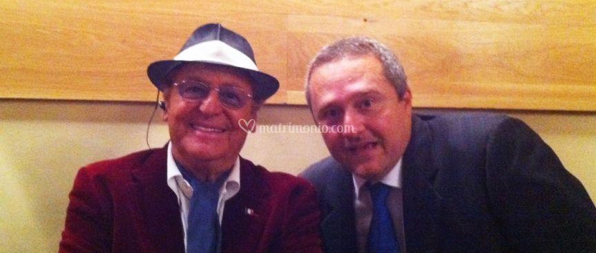 Con il Maestro Renzo Arbore