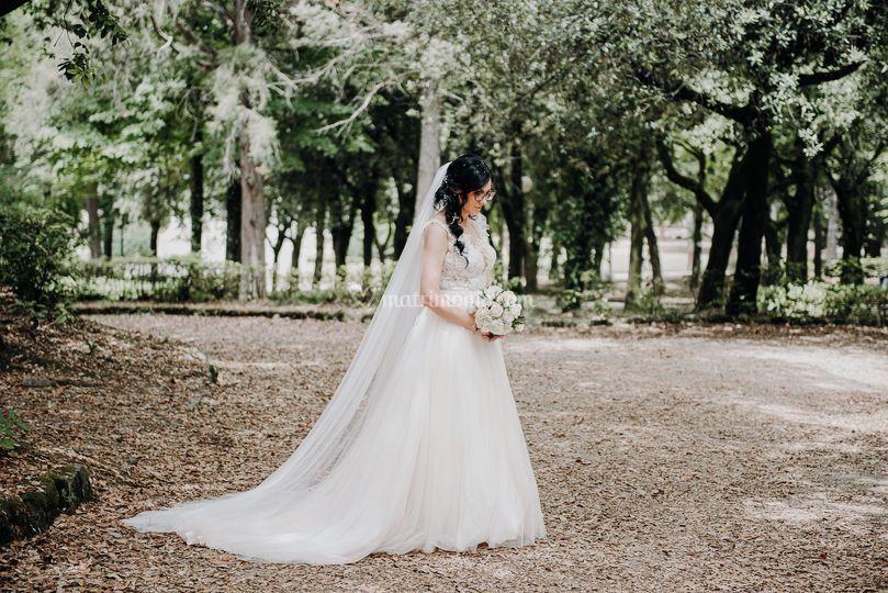 Silvia, sposa ad Arezzo