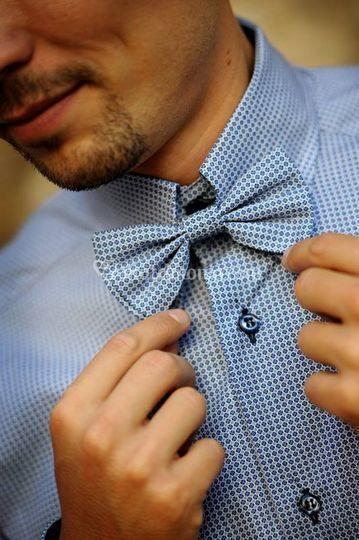 Camicia fantasia + papillon