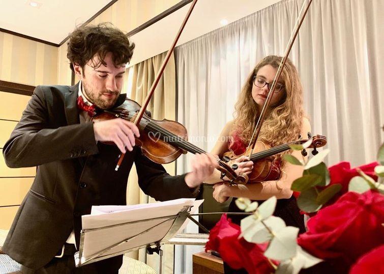 Due violini Suite Concert