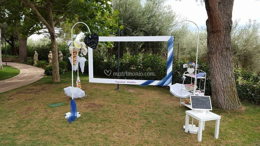 Inquadrati wedding postazione
