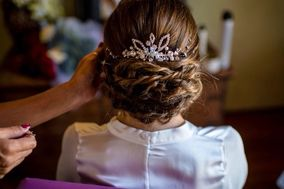 Gioconda Wedding Hair