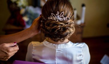 Gioconda Wedding Hair 1