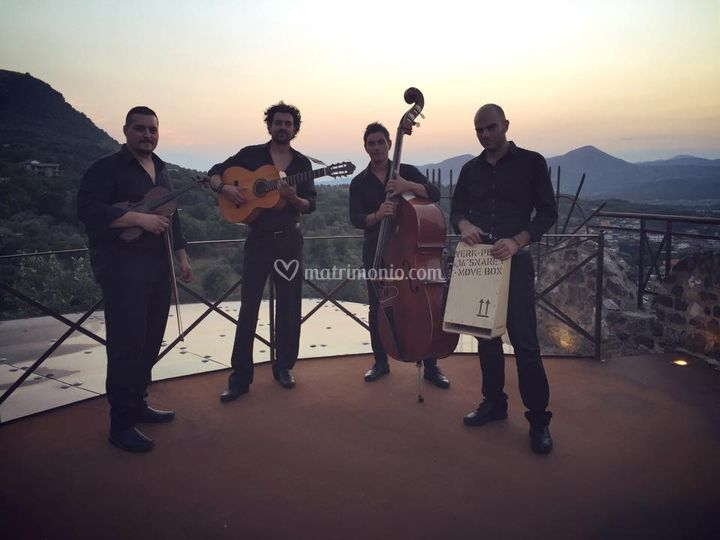 Folk quartet
