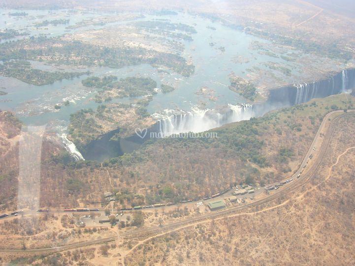 Cascate Victoria - Zambia