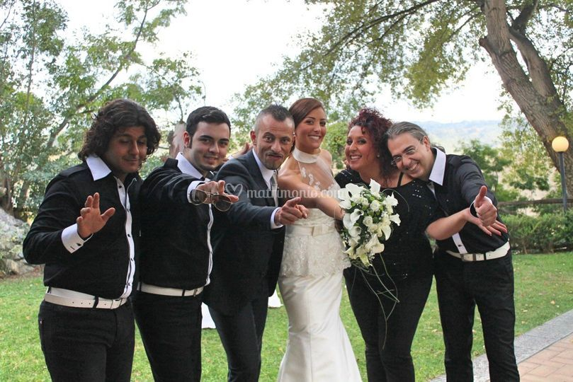 Con gli sposi