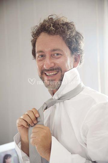 Il sorriso dello sposo