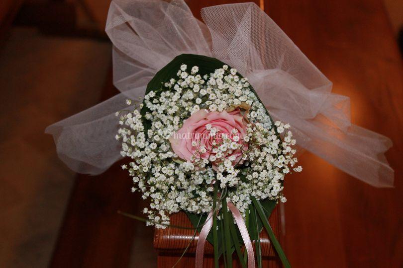 Addobbo matrimoniale