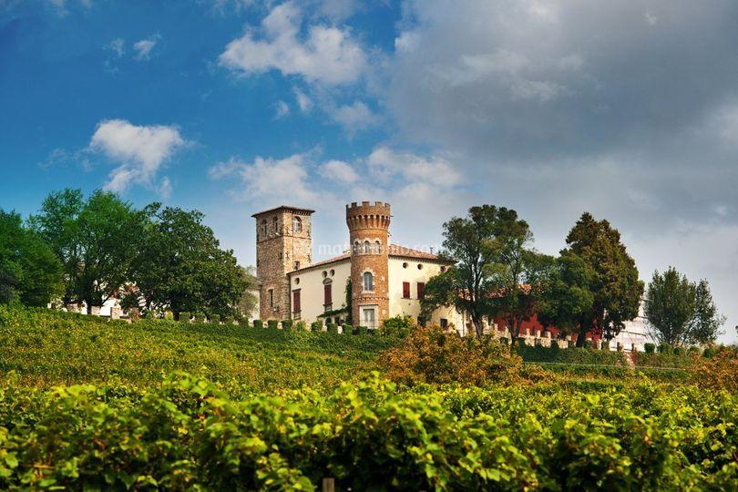 Veduta del castello di Castello di Buttrio