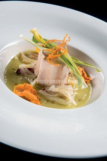 Wedding menu secondo di pesce