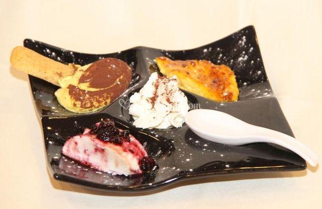 Creazione dessert