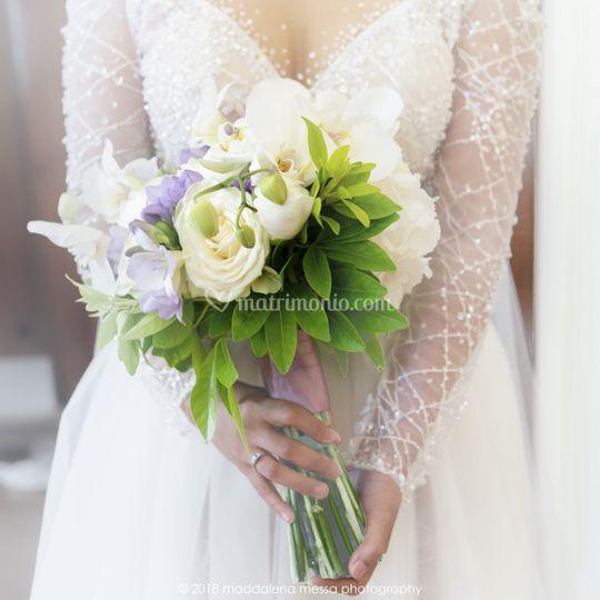 Bpuquet sposa
