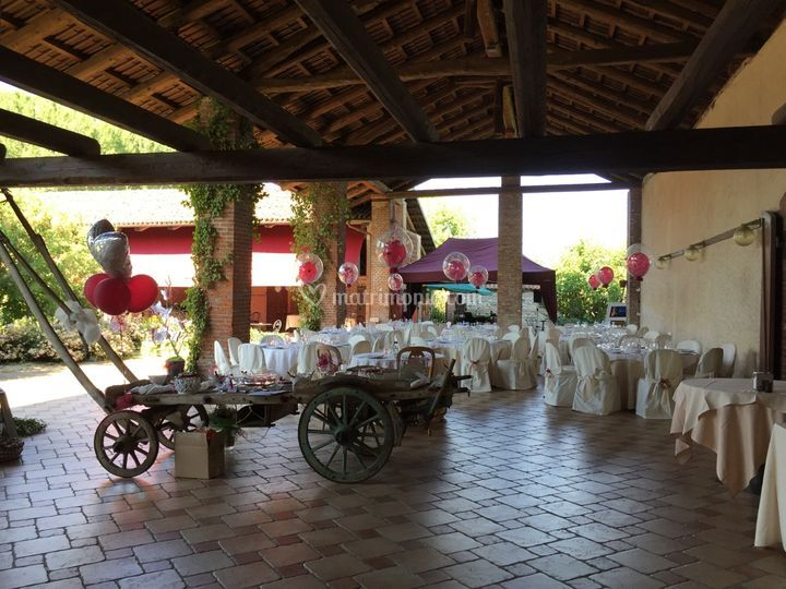Allestimento Country Chic
