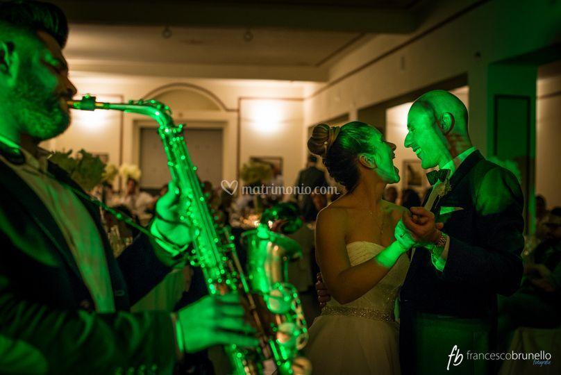 Ballo sposi sax